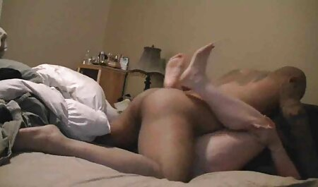 Beauty lies on her japanese orgy porn belly and masturbating her pussy
