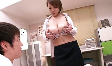 Before be fucked in the ass, she do anilingus his japanese big tits sex