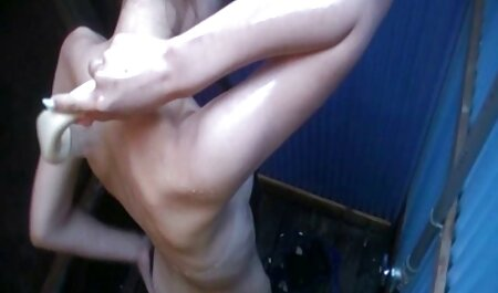 Pleasant blonde with a massage with japan pron continuation
